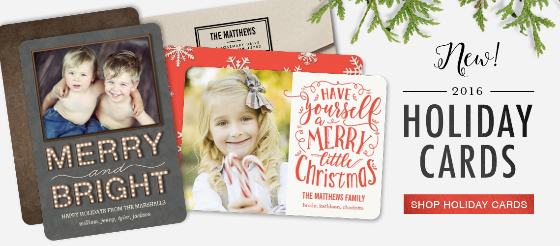 2016 Holiday Card Collections