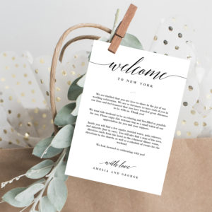 Welcome Notes/Letters