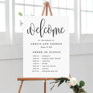 Wedding/Party Signs