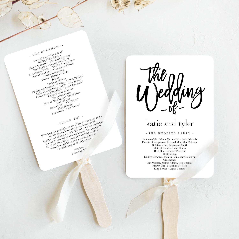Wedding Program Fan Template.Brushed Charm Wedding Program Fan Template Bcc Berry